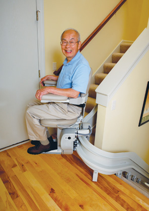 curve bruno stairlift