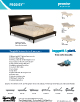Prodigy Adjustable Bed Brochure